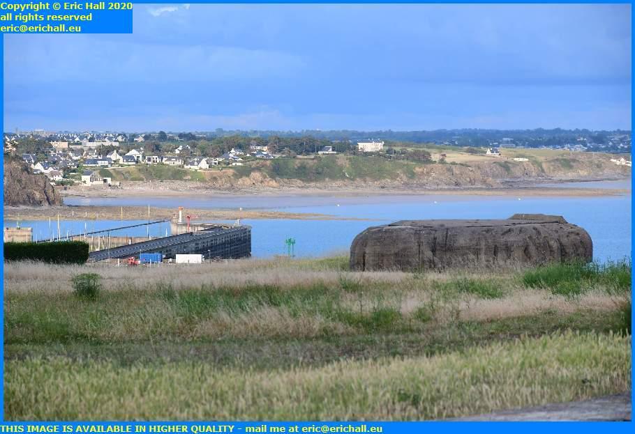chateau de la crete atlantic wall baie se mont st michel port de granville harbour manche normandy france eric hall