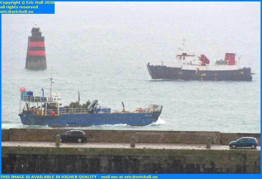 thora normandy trader baie de mont st michel port de granville harbour manche normandy france eric hall
