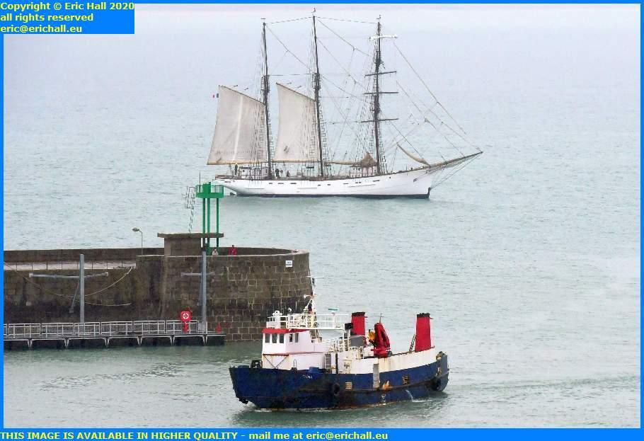 thora marite port de granville harbour  manche normandy france eric hall