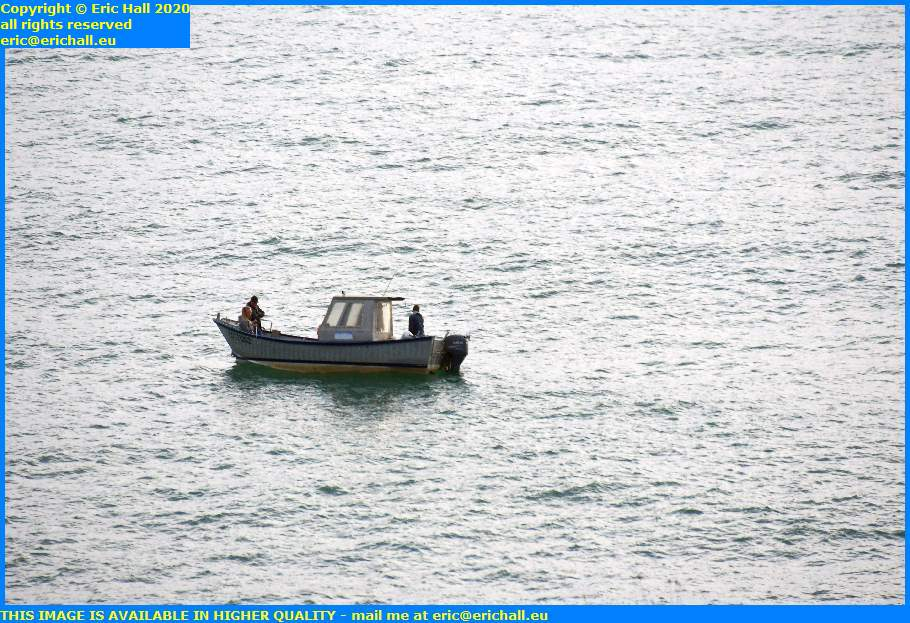 fishing boat english channel granville manche normandy france eric hall