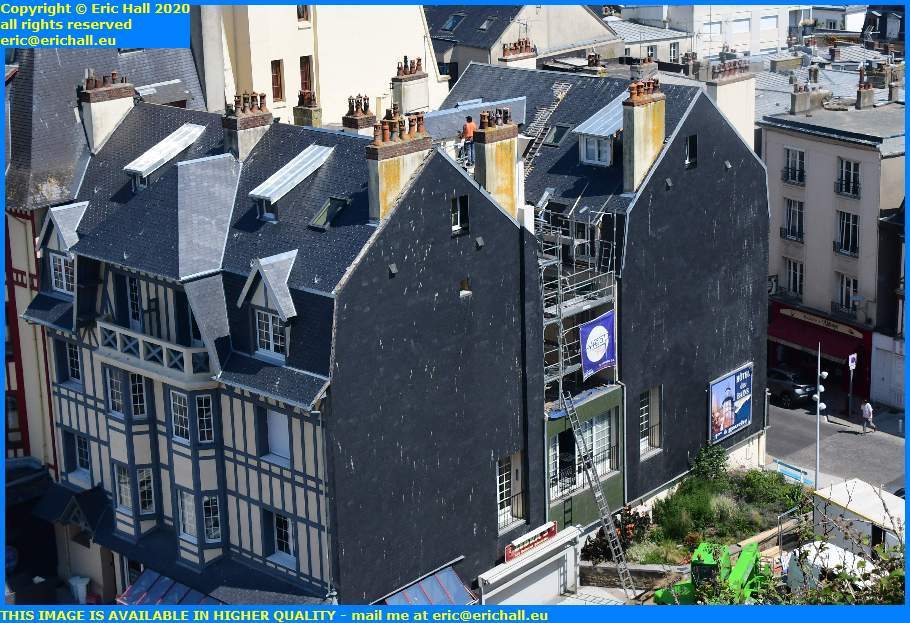 roofing place marechal foch granville manche normandy france eric hall