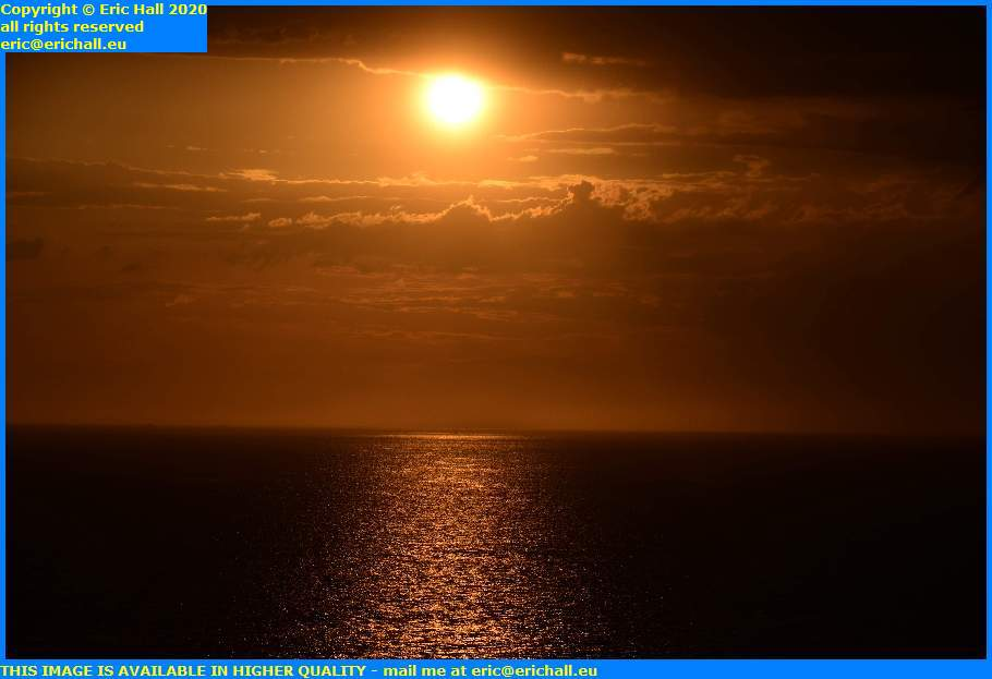 beautiful sunset ile de chausey english channel granville manche normandy france eric hall