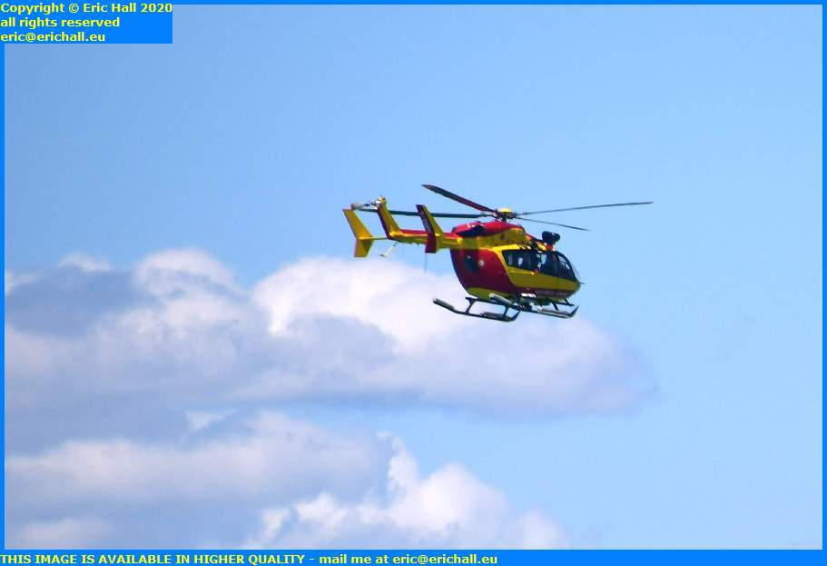 air sea rescue helicopter plat gousset granville manche normandy france eric hall