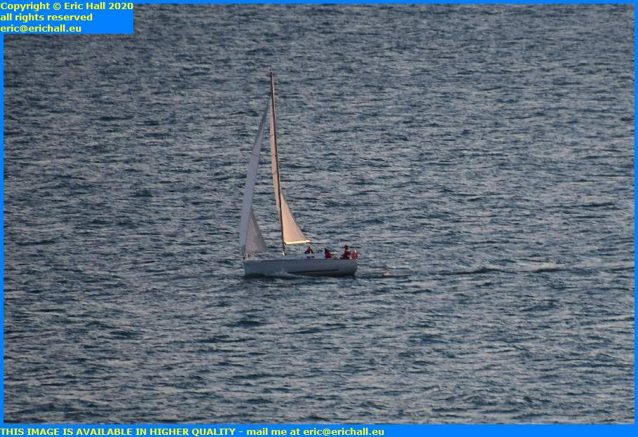 yacht english channel granville manche normandy france eric hall