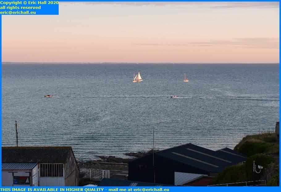yacht speedboat baie de mont st michel granville manche normandy france eric hall