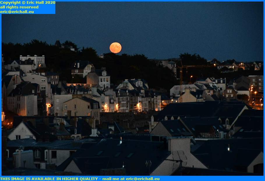 moonrise granville manche normandy france eric hall