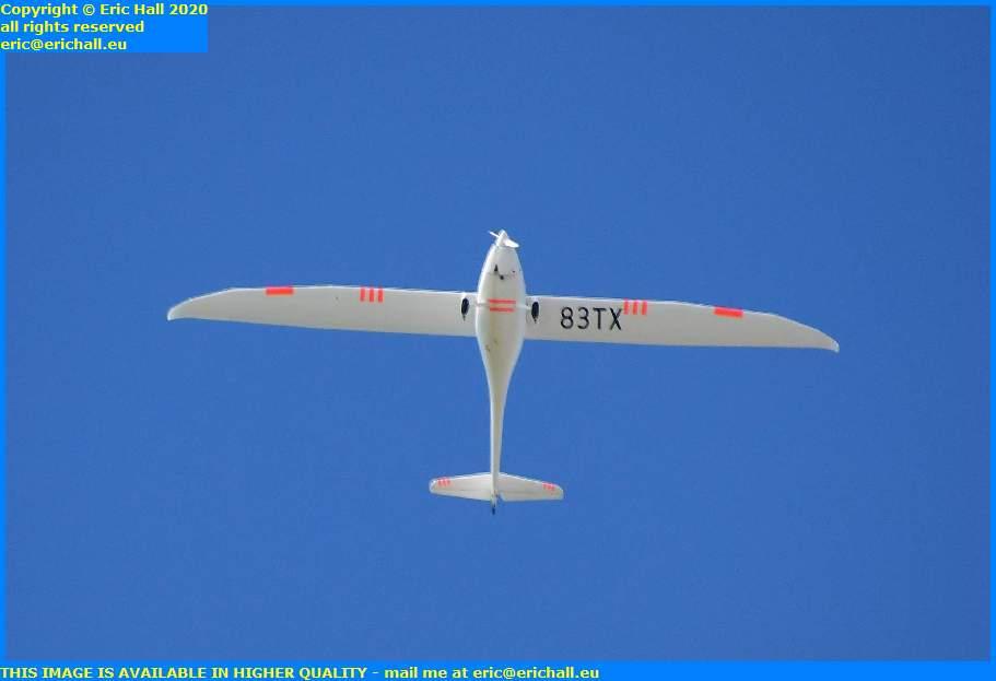 light aeroplane 83 tx granville manche normandy france eric hall