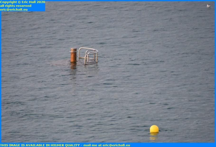 diving platform plat gousset granville manche normandy france eric hall