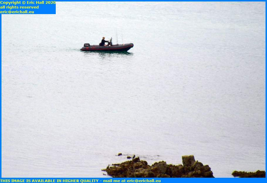 zodiac fishermen pointe du roc english channel granville manche normandy france eric hall