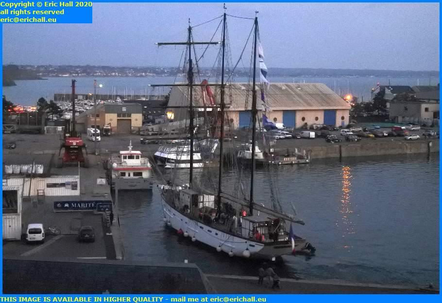 marite port de granville harbour manche normandy france eric hall