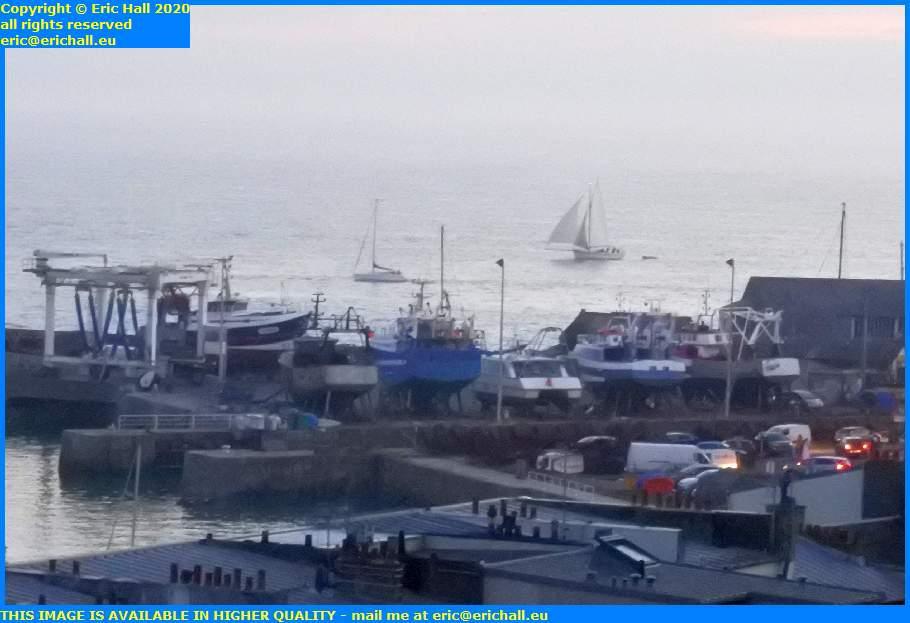yacht baie de mont st michel port de granville harbour manche normandy france eric hall