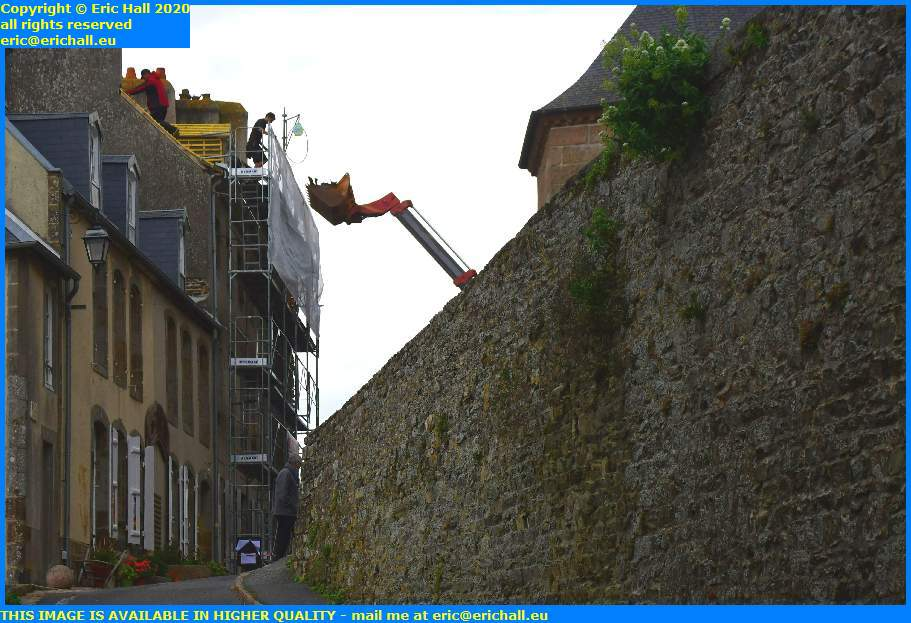 reroofing house parvis notre dame granville manche normandy france eric hall