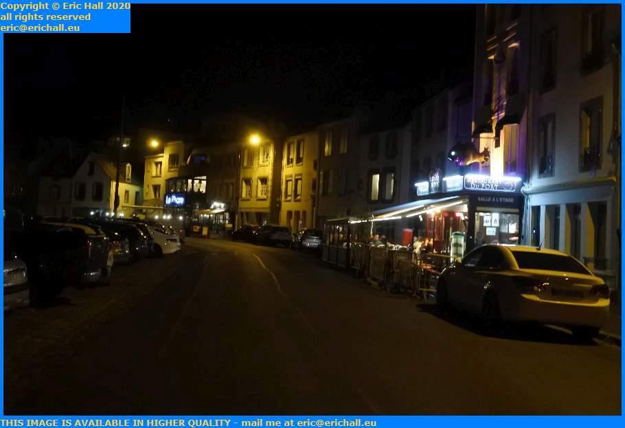 restaurants rue du port de granville harbour manche normandy france eric hall