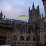 Bath Abbey southern face Somerset England copyright free photo royalty free photo