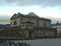 Pump Room rear view Bath Somerset England copyright free photo royalty free photo