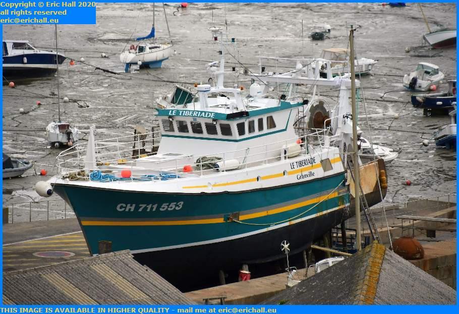Le Tiberiade Trawler Chantier Navale Granville Manche Normandy France Eric Hall