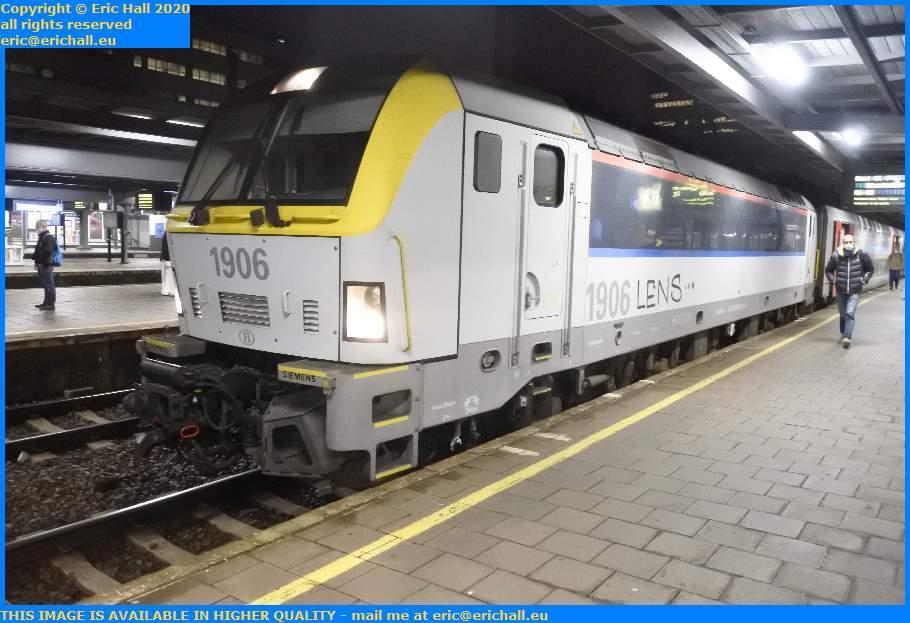 SNCB 1906 Class 19 Siemens Electric Locomotive Gare du Midi Brussels Belgium Eric Hall