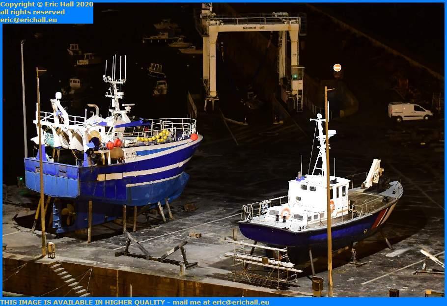 Les Epiettes Cap Lihou Chantier Navale Port de Granville Harbour Manche Normandy France Eric Hall