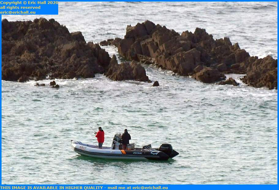 Zodiac Fishing English Channel Granville Manche Normandy France Eric Hall