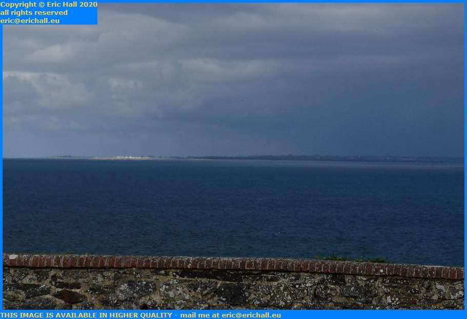 Sunshine Montmartin sur Mer Rainstorm Granville Manche Normandy France Eric Hall