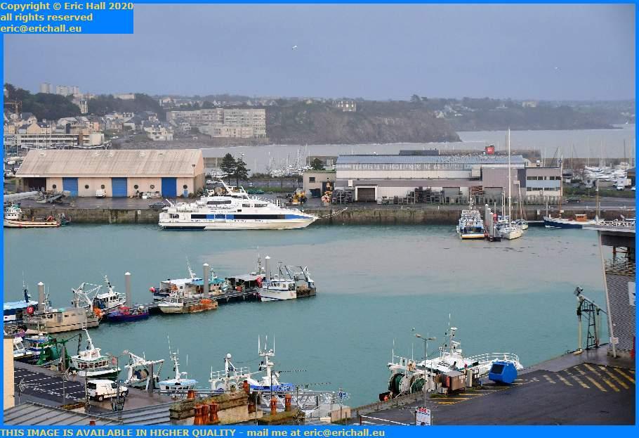 victor hugo spirit of conrad aztec lady port de Granville harbour Manche Normandy France Eric Hall