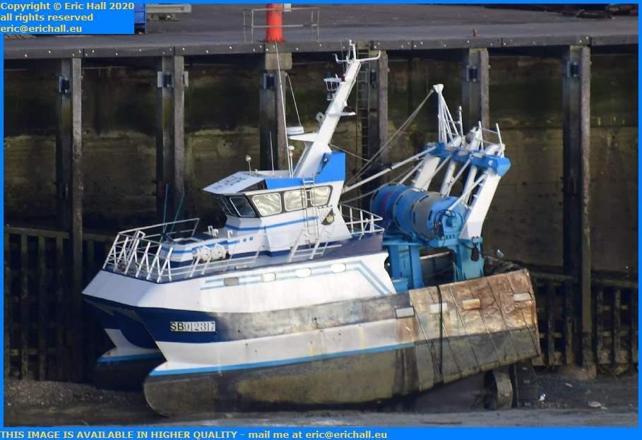 trawler saint brieuc port de Granville harbour Manche Normandy France Eric Hall