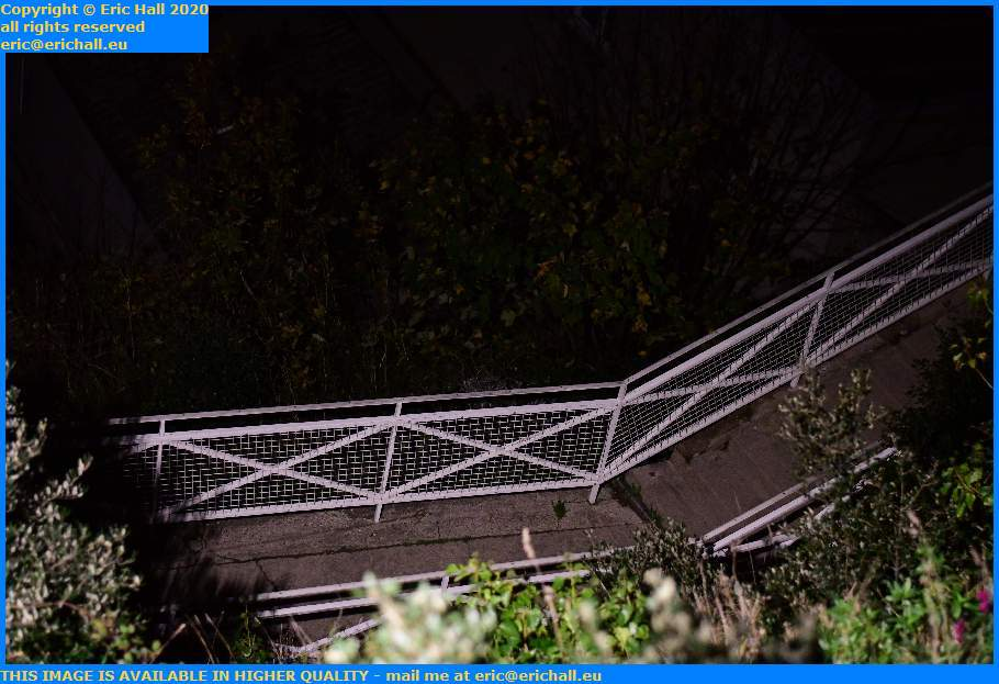 steps escalier du moulin a vent Granville Manche Normandy France Eric Hall