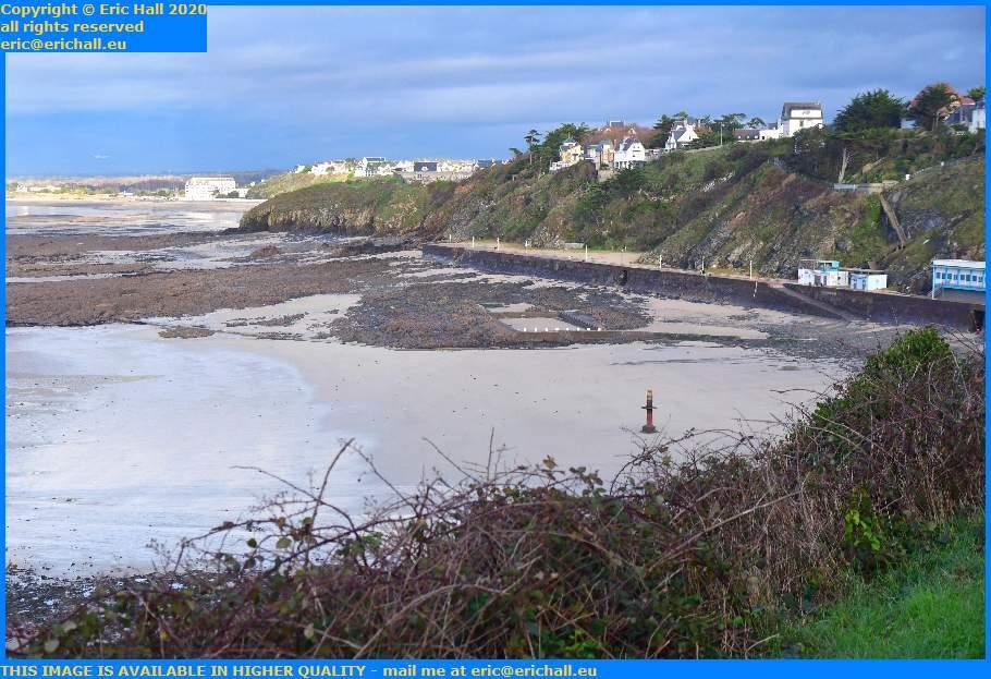 beach plat gousset Granville Manche Normandy France Eric Hall