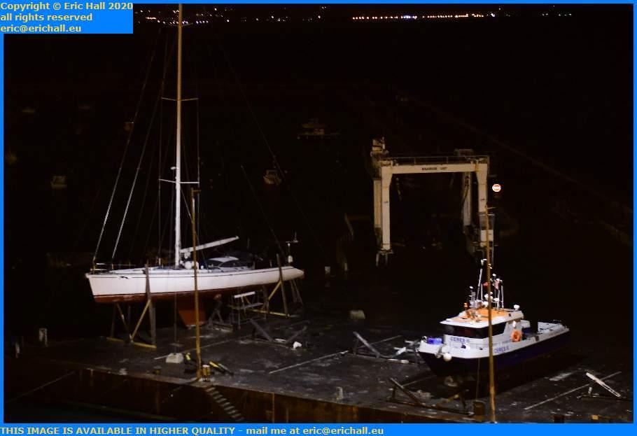 ceres 2 chantier navale port de Granville harbour Manche Normandy France Eric Hall