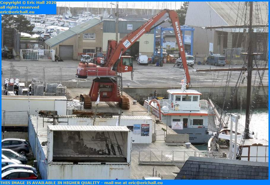 chausiais port de Granville harbour Manche Normandy France Eric Hall