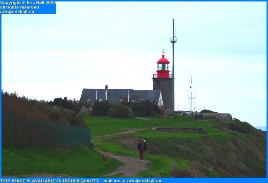 lighthouse semaphore pointe du roc Granville Manche Normandy France Eric Hall
