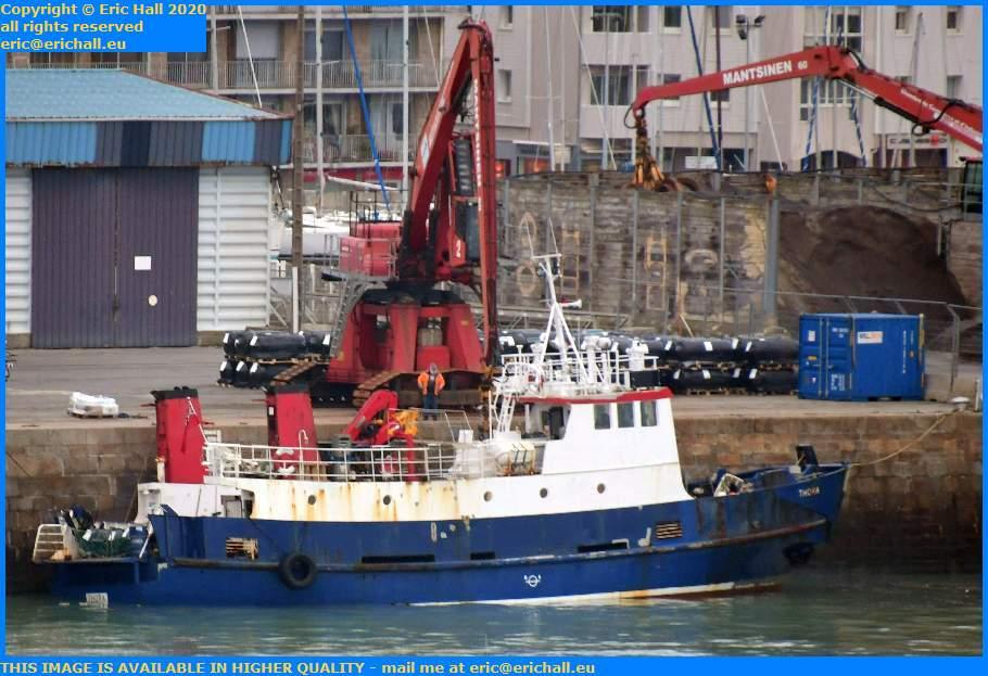 thora port de Granville harbour Manche Normandy France Eric Hall