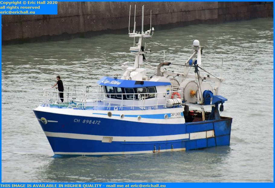 trawler cap lihou port de Granville harbour Manche Normandy France Eric Hall
