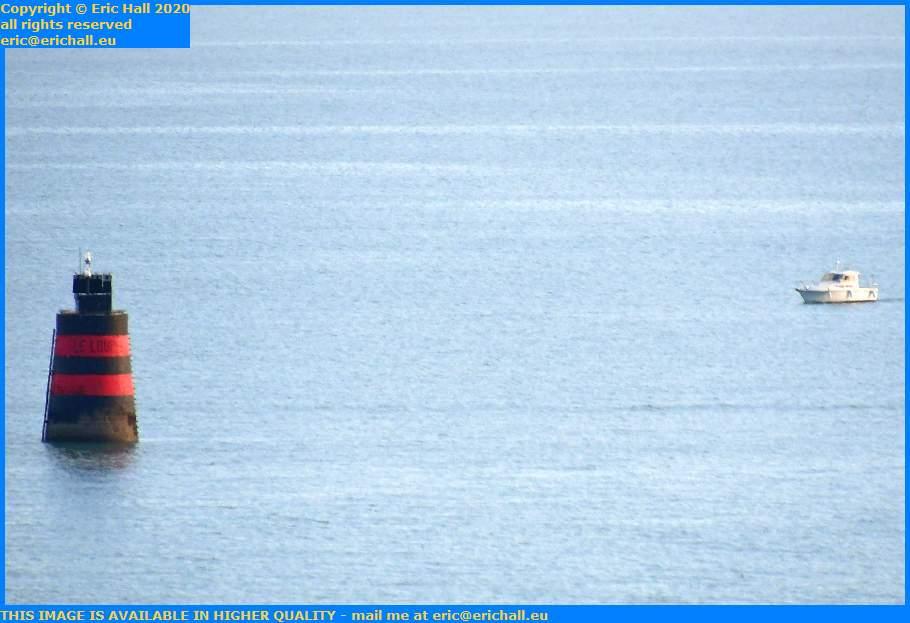 pleasure boat le loup baie de mont st michel Granville Manche Normandy France Eric Hall