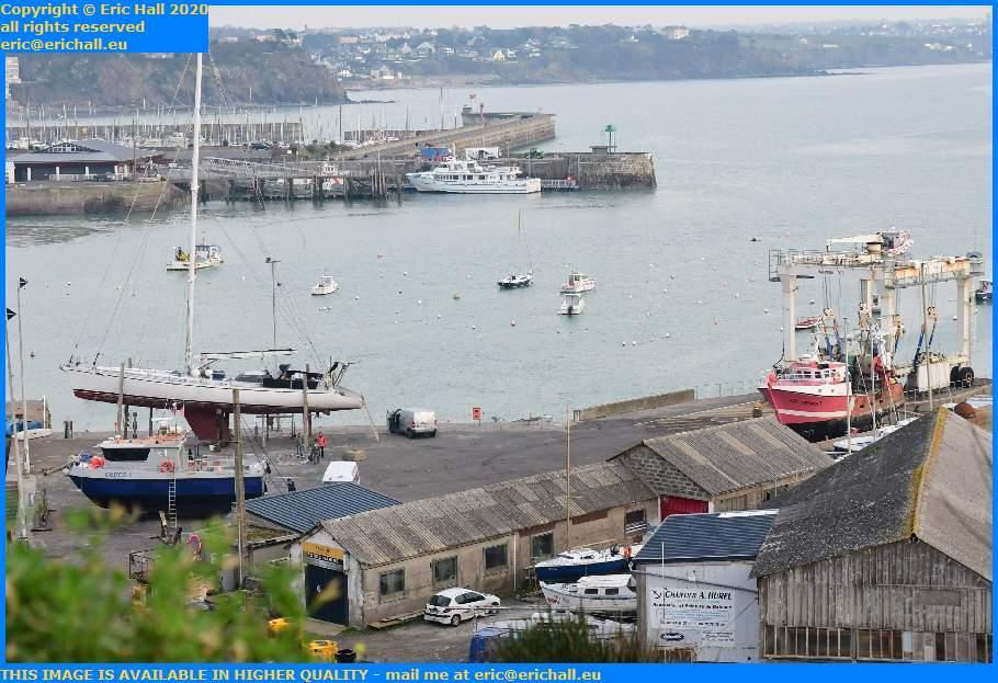 ceres 2 trawler chantier navale port de Granville harbour Manche Normandy France Eric Hall