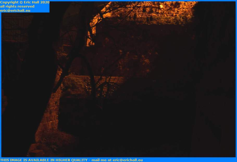 trench place du marche au ble Granville Manche Normandy France Eric Hall