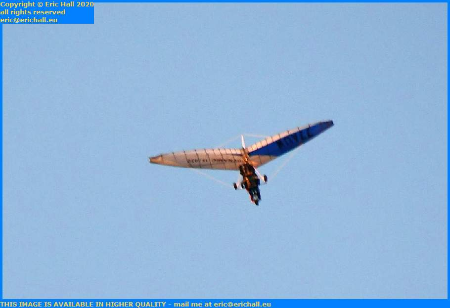 microlight Granville Manche Normandy France Eric Hall