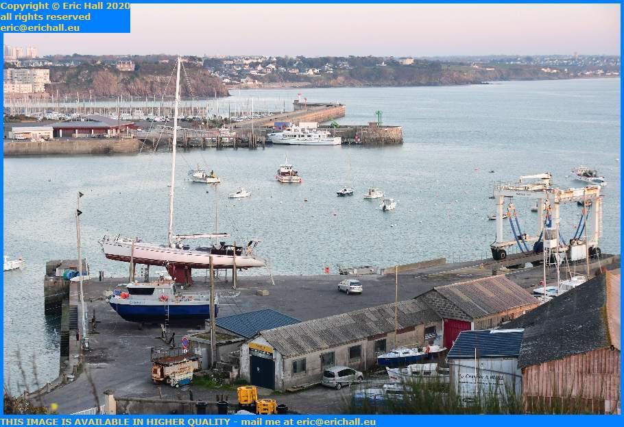 ceres 2 yacht chantier navale port de Granville harbour Manche Normandy France Eric Hall
