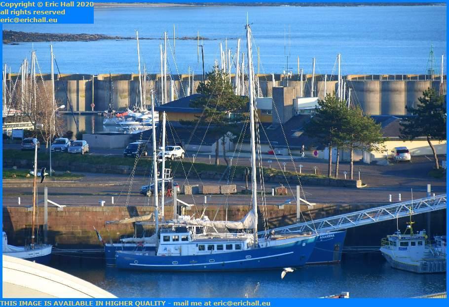 aztec lady anakena port de Granville harbour Manche Normandy France Eric Hall