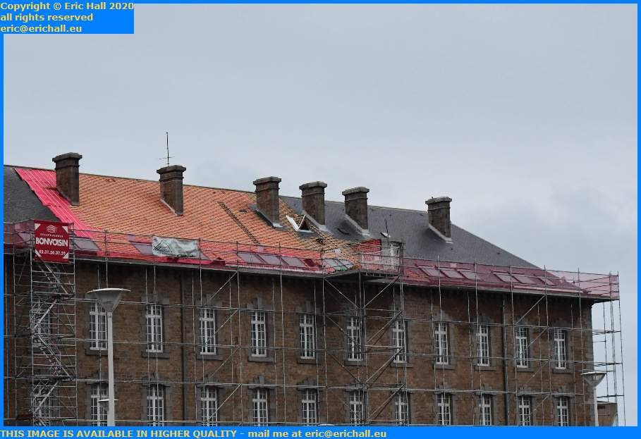 roofing college malraux place d'armes Granville Manche Normandy France Eric Hall