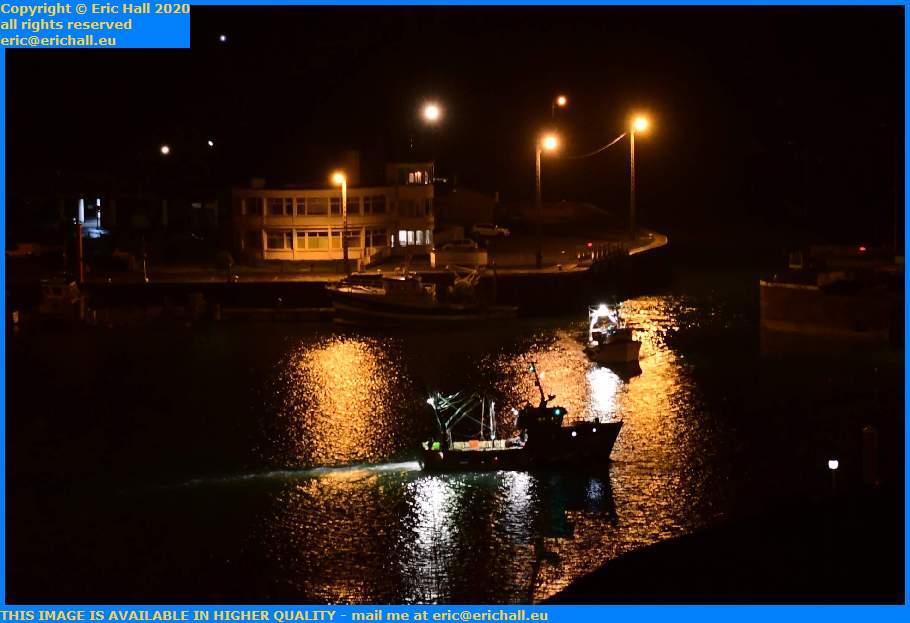 trawlers port de Granville harbour Manche Normandy France Eric Hall
