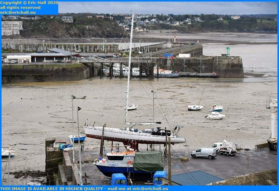 ceres 2 yacht chausiais joly france port de Granville harbour Manche Normandy France Eric Hall
