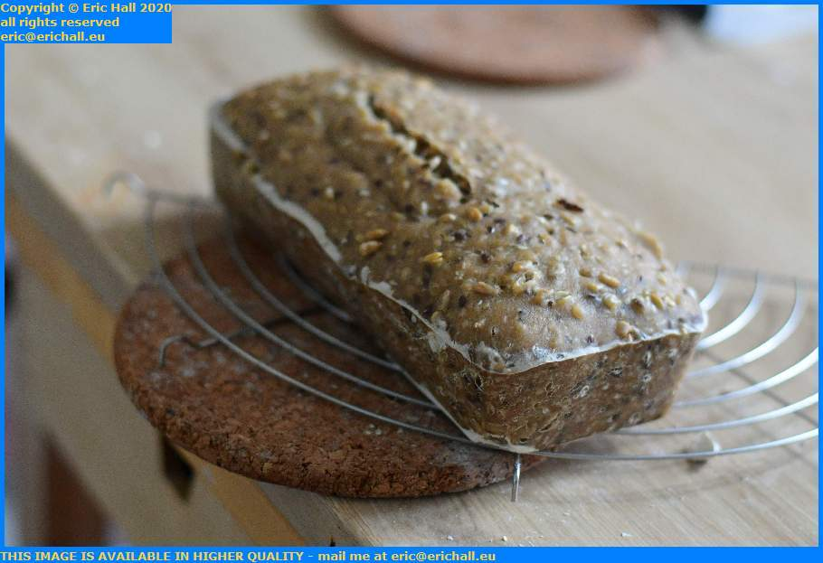 home baked sourdough bread Granville Manche Normandy France Eric Hall