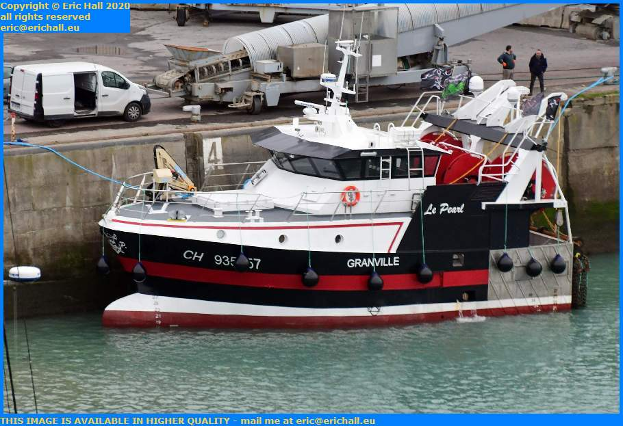 le pearl port de Granville harbour Manche Normandy France Eric Hall