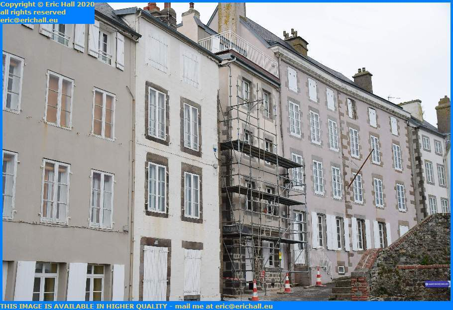 renovated house rue lecarpentier Granville Manche Normandy France Eric Hall