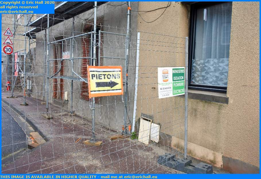 pedestrian passsage rue st paul Granville Manche Normandy France Eric Hall