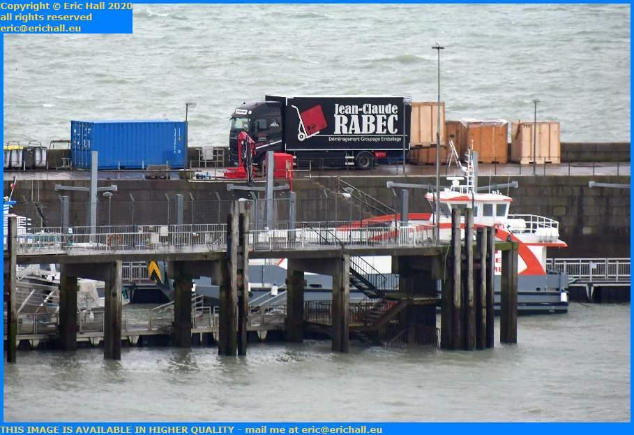 jean claude rabec furniture removals chausiais port de Granville harbour Manche Normandy France Eric Hall