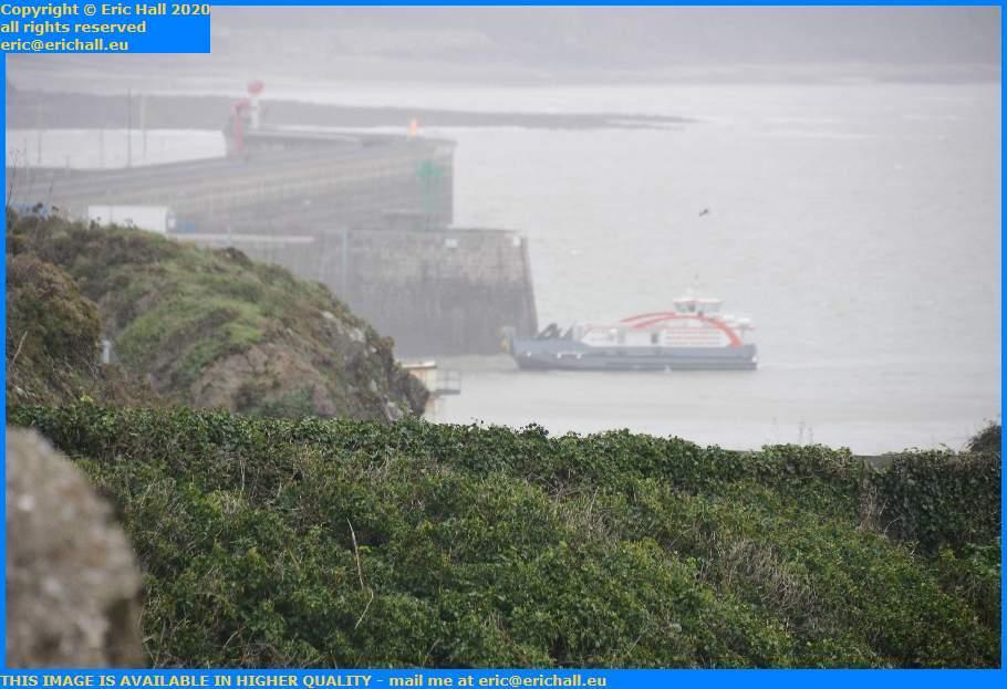 chausiais entering port de Granville harbour Manche Normandy France Eric Hall