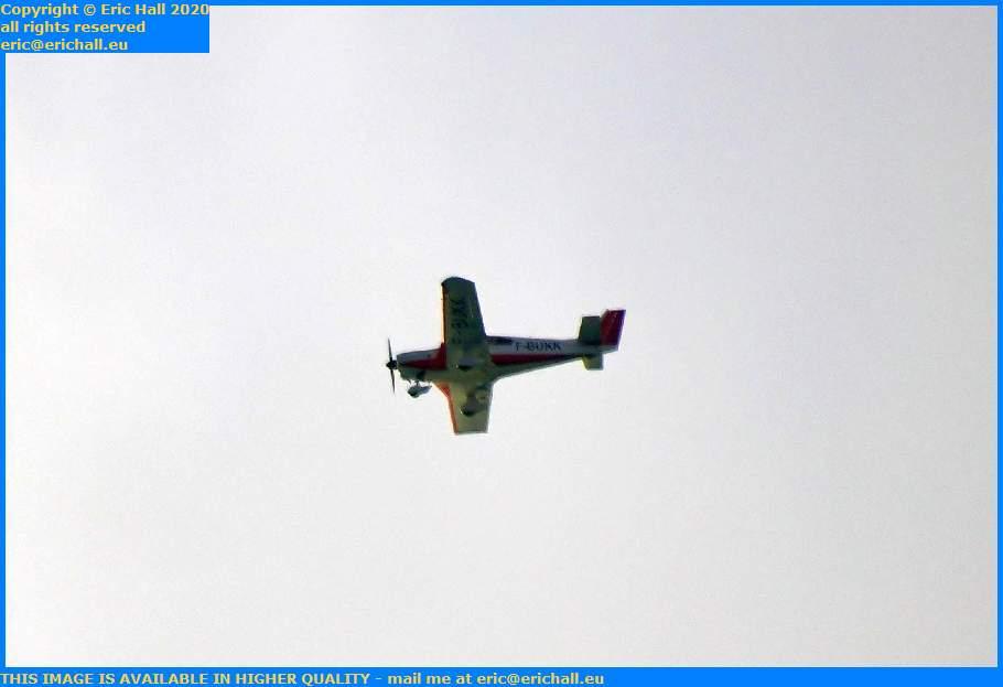 wassmer w54 f-bukk light aircraft Granville Manche Normandy France Eric Hall