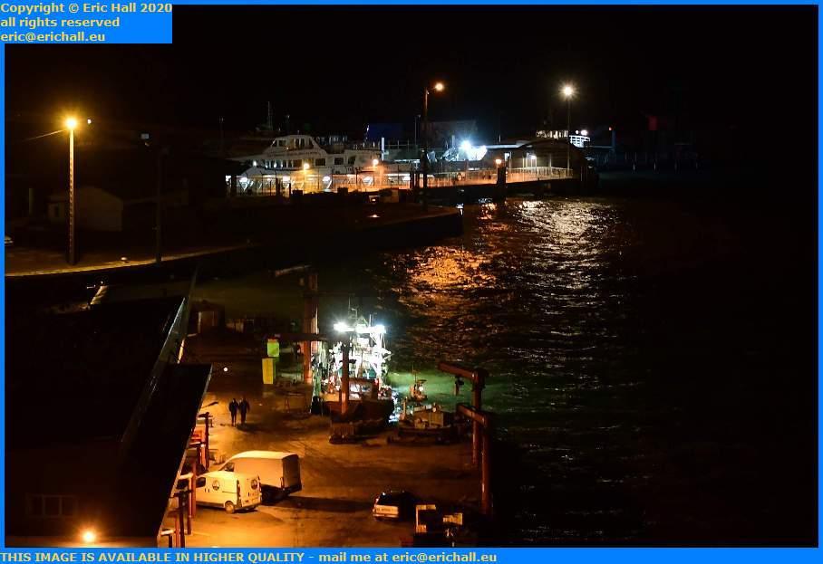 fishing boats fish processing plant port de Granville harbour Manche Normandy France Eric Hall